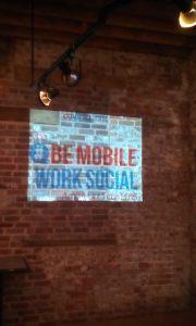 Be Mobile Work Social